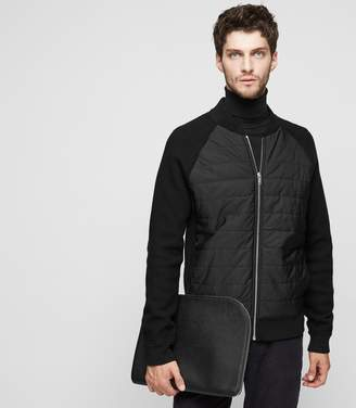 Reiss RIBCHESTER Quilted Bomber Jacket