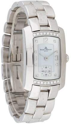 Baume & Mercier Hampton Milleis Diamond Watch