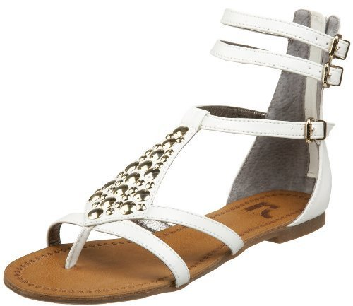 Report Women's Antonia Studded Flat Sandal