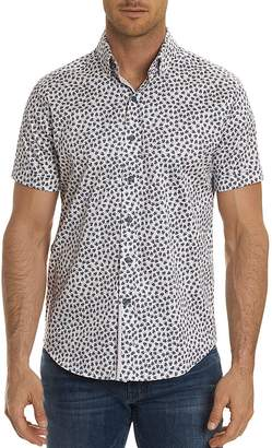 Robert Graham Anders Aviator Skull Short Sleeve Button-Down Shirt - 100% Exclusive