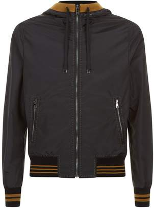 Dolce & Gabbana Hooded Bomber Jacket