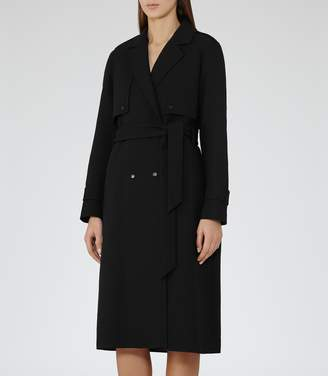 Reiss Verdi Military Trench Coat