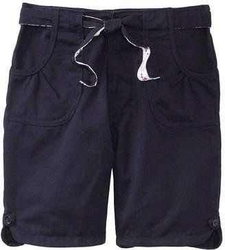 U.S. Polo Assn. USPA Bermuda School Uniform Shorts with Reversible Belt - Girls 7-16