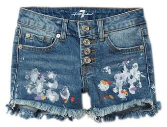 7 For All Mankind Distressed Shorts (Big Girls)