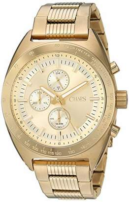 Chaps Men's Rockton Analog-Quartz Stainless-Steel Strap