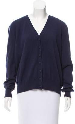 Louis Vuitton Button-Up Knit Cardigan