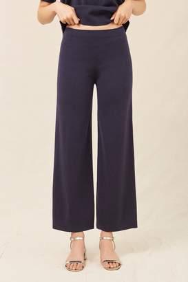 Mansur Gavriel Wool Milano Trousers - Blu