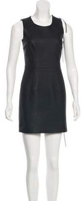 Maison Margiela Leather Sheath Dress