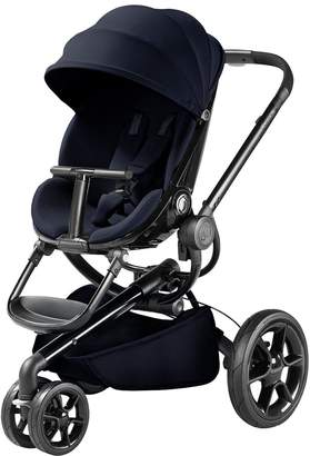 Quinny MooddPushchair 4-in-1 Package with Maxi-Cosi Pebble Plus Car Seat, Carrycot & Footmuff - Midnight Blue