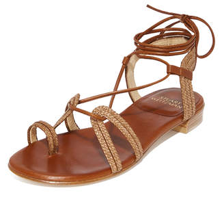 Stuart Weitzman Looping Wrap Sandals $398 thestylecure.com