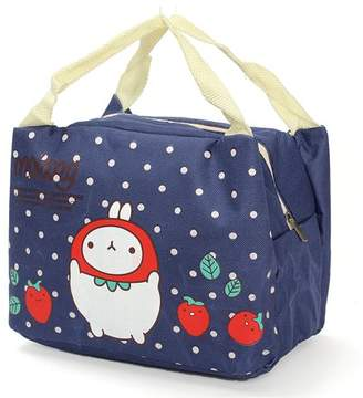 Meigar Cute lunch Box Carry Tote for Kids for Girls Portable Lunch Insulated Bags Hot Cold Pockets Lunch Box for Girls Women Outdoor Picnic Work