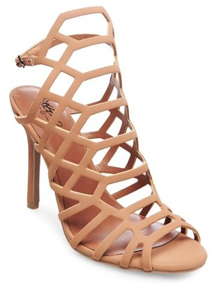 Mossimo Women's Kylea Caged Heel Strappy Gladiator Pumps - Mossimo Black $34.99 thestylecure.com