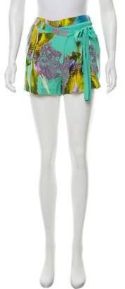 Matthew Williamson Printed Silk Shorts
