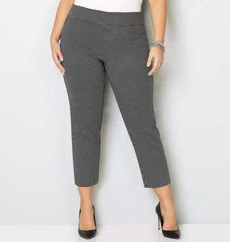 Avenue Square Super Stretch Pull-On Ankle Pant
