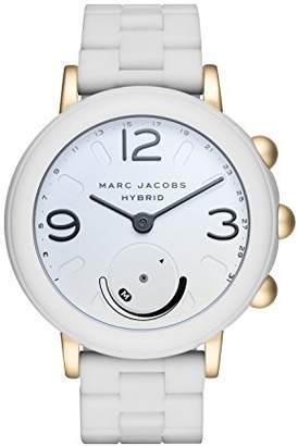 Marc Jacobs Women's Riley Aluminum and Silicone Hybrid Smartwatch