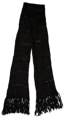 Etoile Isabel Marant Fringe Knit Scarf
