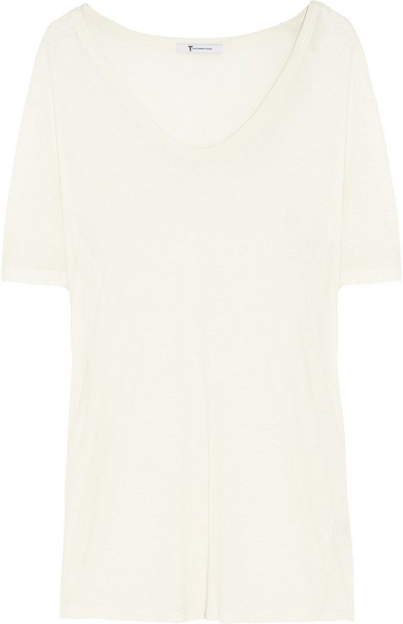 T by Alexander Wang Classic slub-jersey T-shirt