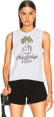 Local Authority for FWRD FUFC Palm Springs Tank Top