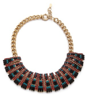 Elizabeth Cole Large Collar Necklace