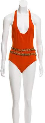 Michael Kors Racerback One-Piece Swimsuit w/ Tags