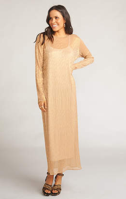 Show Me Your Mumu Maddison Dress ~ Glitzy Gold Glimmer