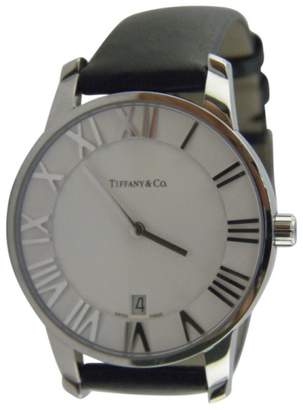 Tiffany & Co. Atlas T0688 Stainless Steel Quartz 37.5mm Mens Watch