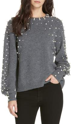 Joie Nilania Beaded Sweater