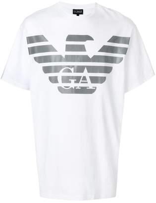 Emporio Armani short sleeved logo T-shirt