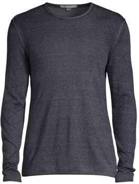 John Varvatos Silk & Cashmere Pullover