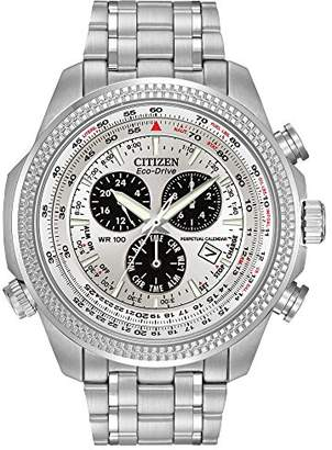 Citizen Men's Eco-Drive Chronograph Watch with Perpetual Calendar and Date