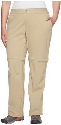 Columbia Plus Size Saturday Trailtm II Convertible Pant Women's Casual Pants