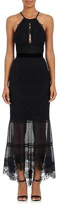 Sophia Kah Women's Backless Lace Cocktail Dress