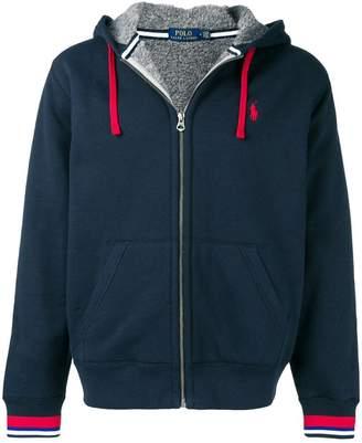 Polo Ralph Lauren stripe trim hoodie
