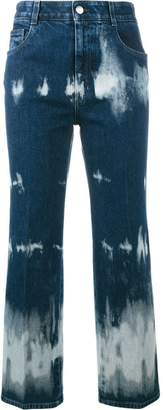 Stella McCartney tie-dye cropped jeans