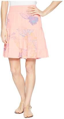 Fresh Produce Summer Floral Jersey Skirt Women's Skirt