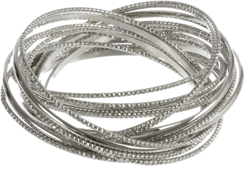 Diamond Etched Bangles