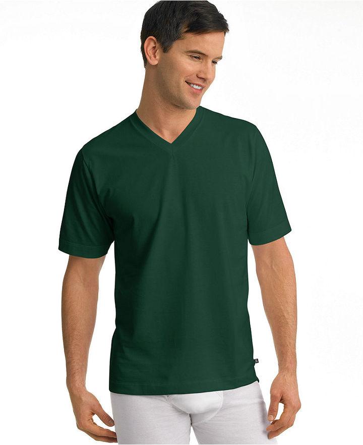 Jockey underwear stay cool v neck t shirt 2 pack sold out for Jockey v neck shirt
