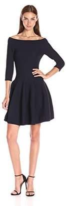 Jonathan Simkhai Women's Class Off-the-Shoulder Knit Dress