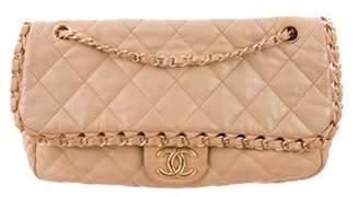 Chanel Medium Chain Me Flap Bag Tan Medium Chain Me Flap Bag