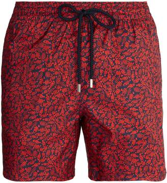 Vilebrequin Mahina Flocked Fish-print swim shorts