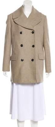 By Malene Birger Wool Double-Breasted Coat