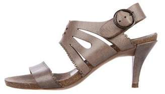 Pedro Garcia Laser Cut Leather Sandals