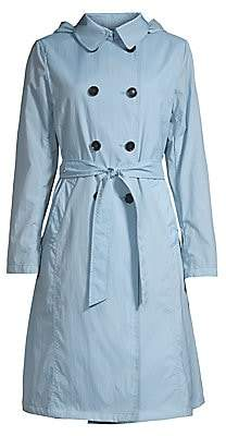 Jane Post Women's Crunch Double-Breasted Trench Coat