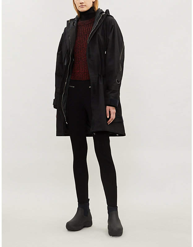 SHOREDITCH SKI CLUB Vyner cotton-blend jacket