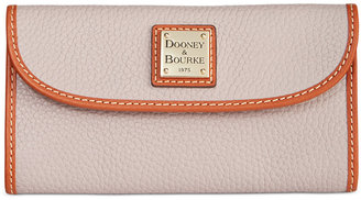 Dooney & Bourke Pebble Continental Clutch $128 thestylecure.com