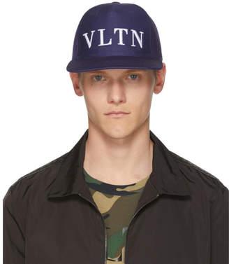 Valentino Blue Garavani VLTN Cap