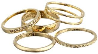 Kendra Scott - Kara Ring/Midi Set Ring $65 thestylecure.com