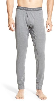Men's Patagonia 'Capilene 3' Midweight Base Layer Pants $59 thestylecure.com