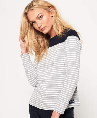 Superdry Colour Block Breton Top
