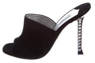 Prada Embellished Glove Sandals